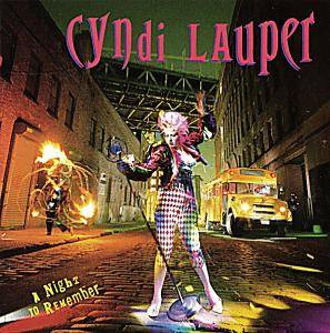 Cyndi Lauper: Night To Remember, A - Cover