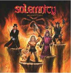 Solemnity: Shockwave Of Steel - Cover
