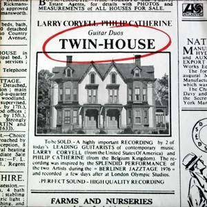 Larry Coryell & Philip Catherine: Twin-House: Guitar Duos - Cover