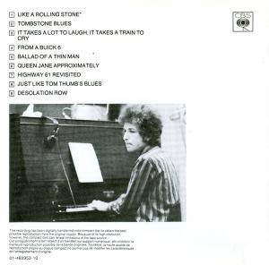 Bob Dylan: Highway 61 Revisited (CD) - Bild 4