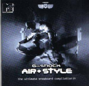 Cover - Afrob: Air & Style - The Ultimate Snowboard Compilation 4