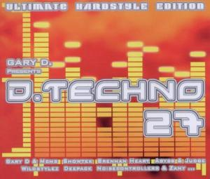 Gary D. Presents D-Techno 27 - Cover