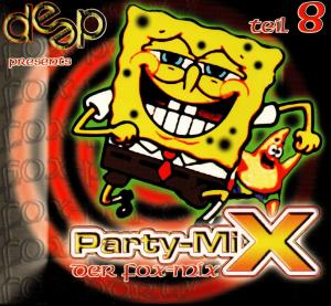 Deep Party-Mix 8 - Der Fox-Mix - Cover
