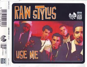 Raw Stylus: Use Me - Cover