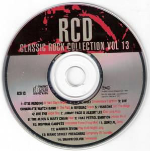RCD Classic Rock Collection Vol 13 - Cover