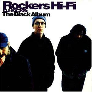 Cover - Lida Husik: Rockers Hi-Fi – DJ-Kicks: The Black Album