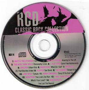 RCD Classic Rock Collection Vol 14 - Cover