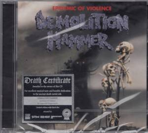 Demolition Hammer: Epidemic Of Violence (CD) - Bild 3