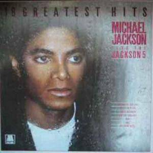 Michael Jackson: 18 Greatest Hits - Cover
