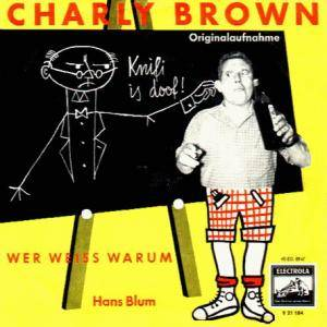 Cover - Hans Blum: Charly Brown