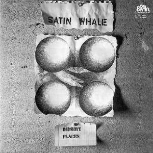 Satin Whale: Desert Places - Cover