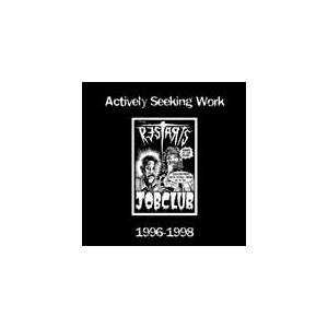 The Restarts: Actively Seeking Work 1996-1998 - Cover