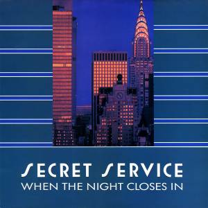 Secret Service: When The Night Closes In - Cover