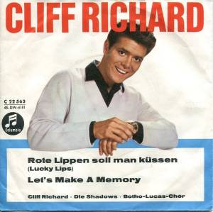 Cliff Richard: Lucky Lips - Cover