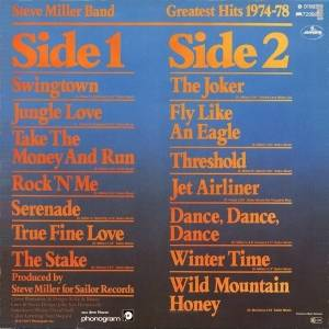 The Steve Miller Band: Greatest Hits 1974-78 (LP) - Bild 2