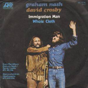 Cover - Crosby & Nash: Immigration Man