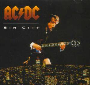 AC/DC: Sin City - Cover