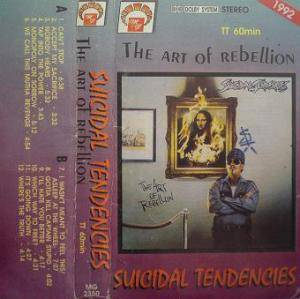 Suicidal Tendencies: Art Of Rebellion, The - Cover