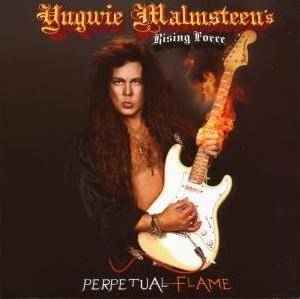 Yngwie J. Malmsteen's Rising Force: Perpetual Flame - Cover