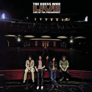 The Guess Who: Live At The Paramount - Cover