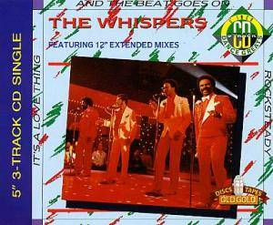 The Whispers: And The Beat Goes On - Cover