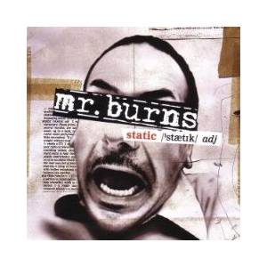 Mr. Burns: Static (CD) - Bild 1