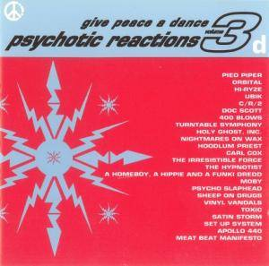 Give Peace A Dance - Volume 3 - Psychotic Reactions - Cover