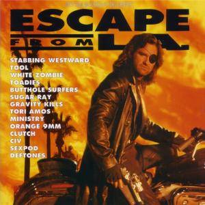 Escape From L.A. - Music From And Inspired By John Carpenter's Escape From L.A. - Cover