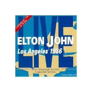 Cover - Elton John: Los Angeles 1986