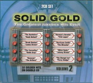 Solid Gold The Greatest Jukebox Hits Ever! Vol. 2 - Cover