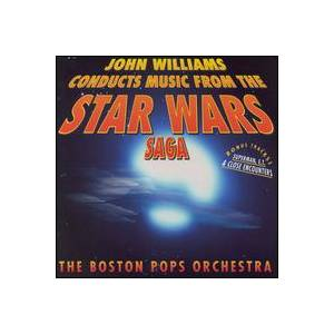 John Williams & The Boston Pops Orchestra: Music From The Star Wars Trilogy - Cover