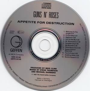 Guns N' Roses: Appetite For Destruction (CD) - Bild 4