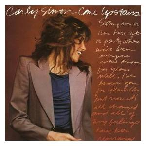 Carly Simon: Come Upstairs - Cover