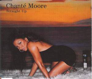 Cover - Chanté Moore: Straight Up
