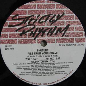 Cover - Phuture: Rise From Your Grave