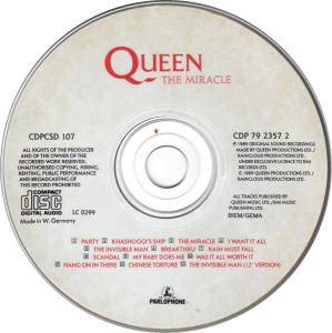 Queen: The Miracle (CD) - Bild 2
