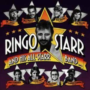 Cover - Ringo Starr And His All Starr Band: Ringo Starr And His All-Starr Band