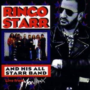 Cover - Ringo Starr And His All Starr Band: Live From Montreux