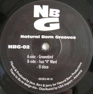 Cover - Natural Born Grooves: Groovebird