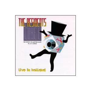 The Residents: Cube-E: Live In Holland - Cover