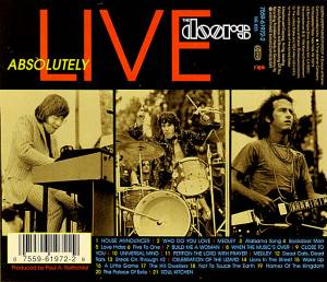 The Doors: Absolutely Live (CD) - Bild 2