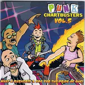 Punk Chartbusters Vol. 5 - Cover