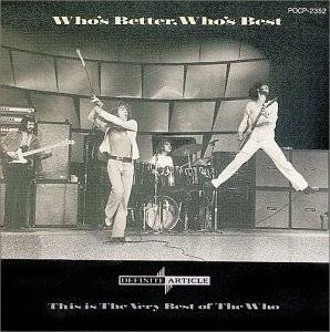 The Who: Who's Better, Who's Best - Cover