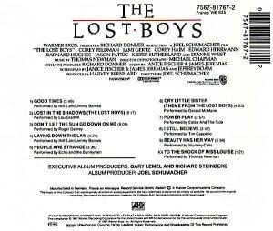 The Lost Boys - Original Motion Picture Soundtrack (CD) - Bild 2