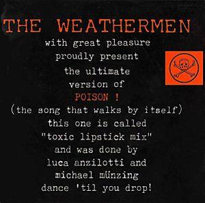 The Weathermen: Poison! - Cover