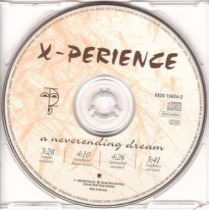 X-Perience: A Neverending Dream (Single-CD) - Bild 3