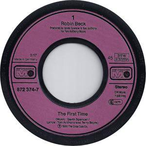 "Robin Beck: First Time (7"") - Bild 3"
