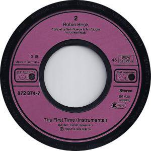 "Robin Beck: First Time (7"") - Bild 4"