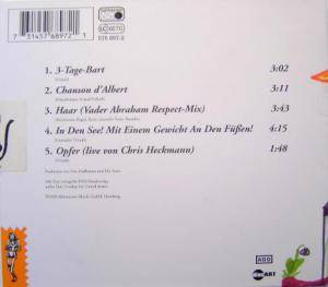 Die Ärzte: 3-Tage-Bart (Single-CD) - Bild 2