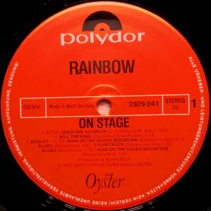 Rainbow: On Stage (2-LP) - Bild 3